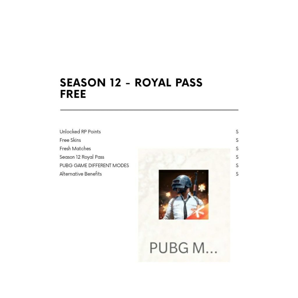free royal pass season 12 updated
